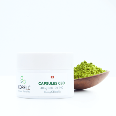 Corell Natural Benefits capsules CBD