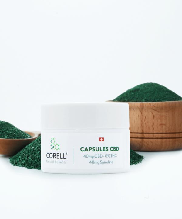Corell Natural Benefits capsules CBD