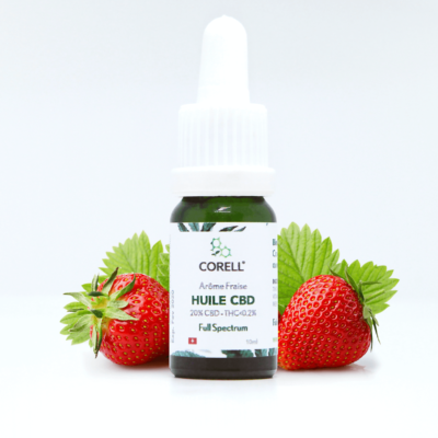 Corell Natural Benefits huile CBD