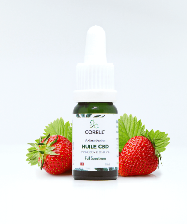 Corell Natural Benefits huile CBD